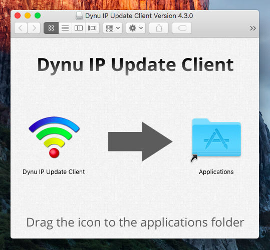 Dynu IP Update Client Activity