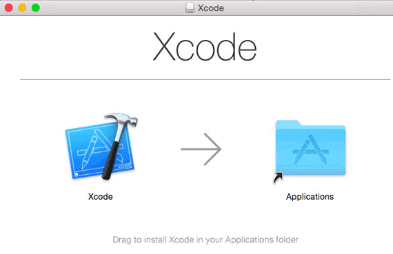 Install Xcode