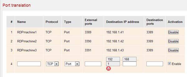 Port Forwarding for Remote Desktop